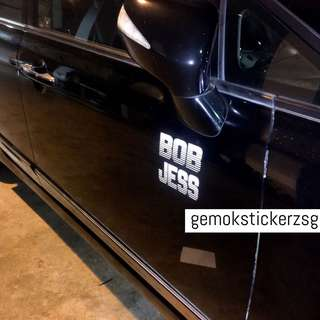 CAR CUSTOM DECAL