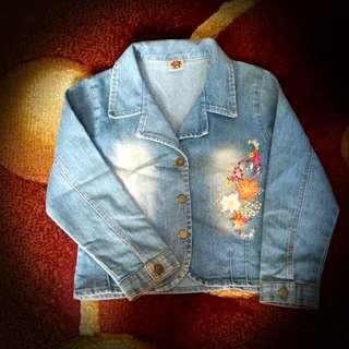 Jaket Jeans Little M