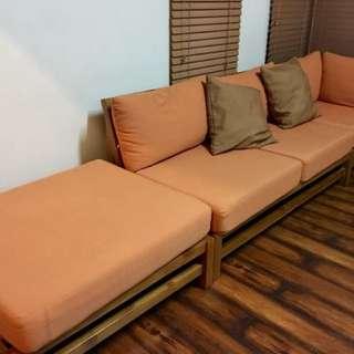 Teak Modular Sofa