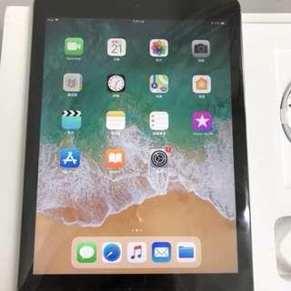 Apple iPad WiFi 128GB Grey 2017(back little damaged),Warranty date 13-2-2019