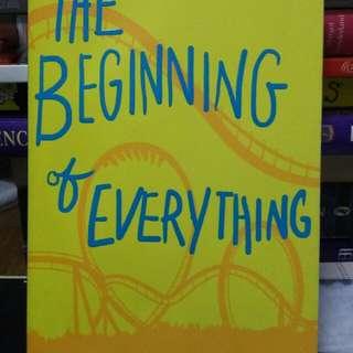 Novel the Beginning of Everything