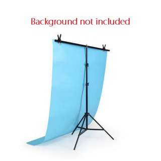 Pxel LSBD20X8T 200cm x 80cm T Type Photography Background stand w Clip