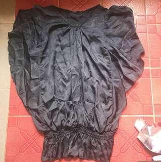 Baju hitam kerja
