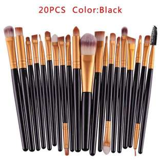 20pcs Set Makeup Brushes