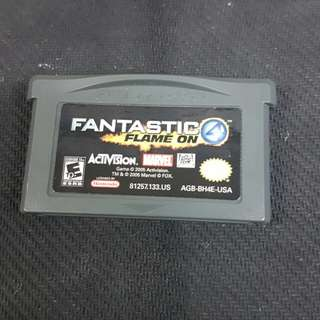 GBA Fantastic 4 Flame On (Used Game)