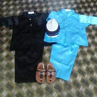Combo Baju Melayu (6m-1y)