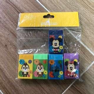 Disney 迪士尼擦子膠 all $20