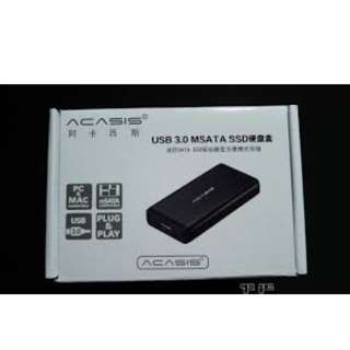 Acasis USB3.0 MSATA SSD