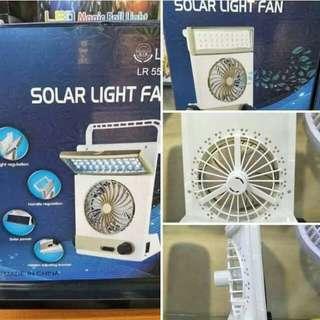 Solar Light Fan