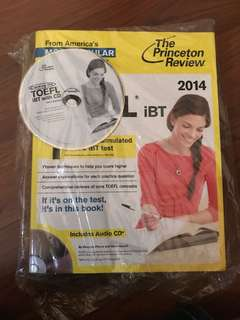 TOEFL Preparation book with CD