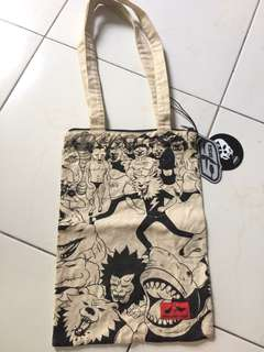 Authentic Diesel Artist Collaboration Canvas Bag