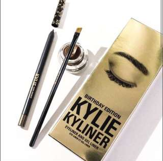 Authentic Kylie Cosmetics Dark Bronze Eyeliner