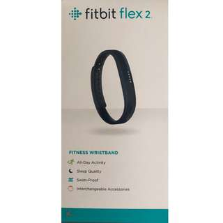 Fitbit Flex 2 Fitness Tracker - Navy
