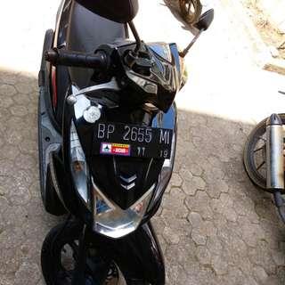 Jual Honda Beat 2014 Hitam