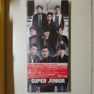 Super Junior 日版Hero 2CD+DVD淨專
