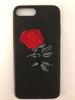 iPhone 7 Plus + Embroidered Case