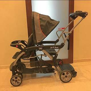 used babytrend sit & stand DX Stoller