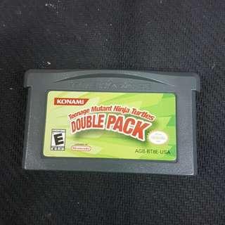 GBA Teenage Mutant Ninja Turtles Double Pack (Used Game)