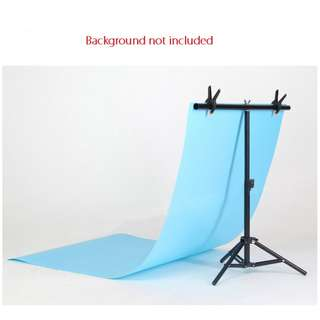 Pxel PXEL LS-BD8X7T 80cm x 70cm T Type Photography Background stand with Clip