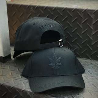 STONED WEED ALL BLACK