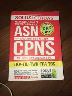 Buku soal CPNS