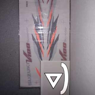 v100 sticker