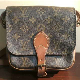 LV vintage shoulder bag