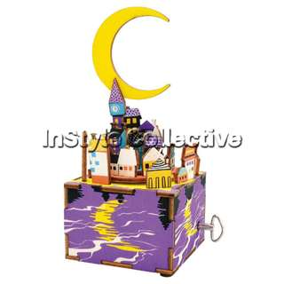 3D DIY Musical Box / Wooden Puzzle - AM306: Moonlight In Midsummer Night's Dream