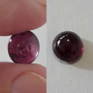 🌺Very nice Madagasca Rhodolite Garnet carbocheon. 7.30 ct