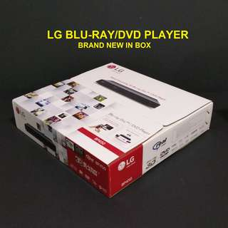 LG Blu-Ray Disc DVD Player BP450