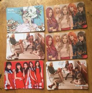 Red Velvet Yes Card
