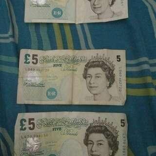 Duit Pound lama