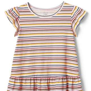 GAP GIRL LINES PRINTED COLOURFUL