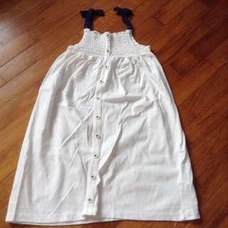 Marks And Spencer White Dress