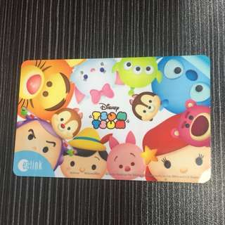 Limited Edition Tsum Tsum Ezlink Card