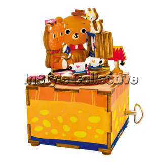 3D DIY Musical Box / Wooden Puzzle - AM310: Bears In Love