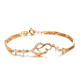 Lady's Luxury Gold plated Bracelet