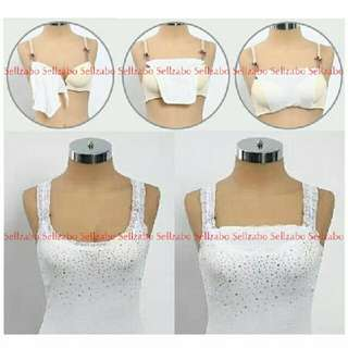 Bust Cover Conceal Chest Bra Inserts Sellzabo Reveal Expose Protection #L12 Ladies Girls Women Female Lady