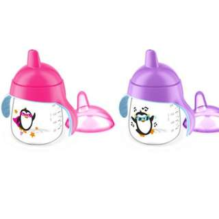 9oz Philips Avent Penguin Hard Spout Sippy Cup, 9m+ (1 pc, Loose Pack)