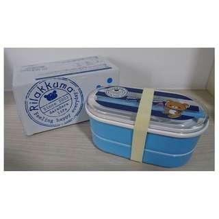 2-Tier Lunch Box - Rilakkuma