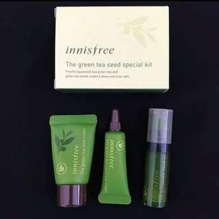 Innisfree Green Tea Balancing Special Kit NEW