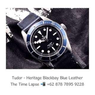Tudor - Heritage Blackbay Blue Leather