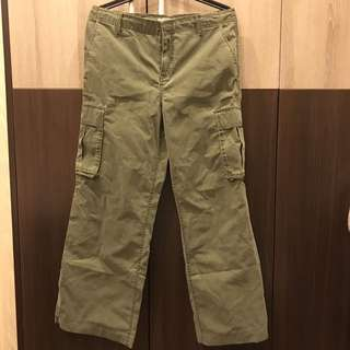 🚚 Polo jeans 綠色仿舊工作口袋褲 全新吊牌未拆