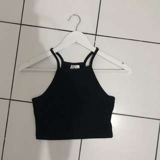(PRELOVED) H&M TANK IN BLACK