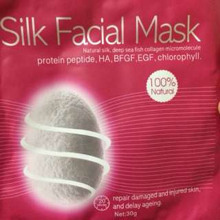 5 Silk Facial Masks
