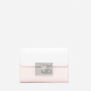 新加坡直送 包郵 Charles & Keith PUSH-LOCK WALLET