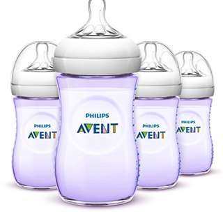 🆕🚼Philips AVENT Piurple Limited Edition Natural Bottle (4 Pack)