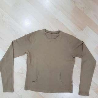 Sweater Material Top