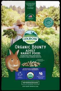 Pets' Gantry-New stocks of Oxbow Organic Bounty Adult Rabbit Food 3lb!