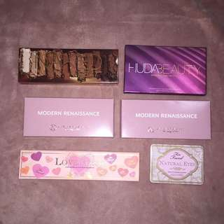NEW & USED GENUINE HIGH END PALETTES